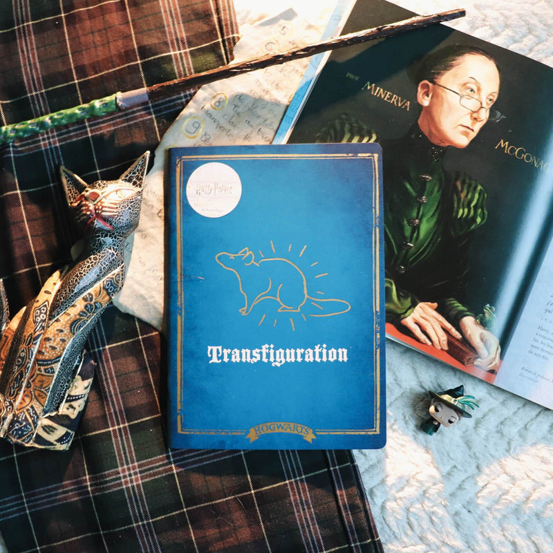 CARNET A4 TRANSFIGURATION (METAMORPHOSE) - HARRY POTTER