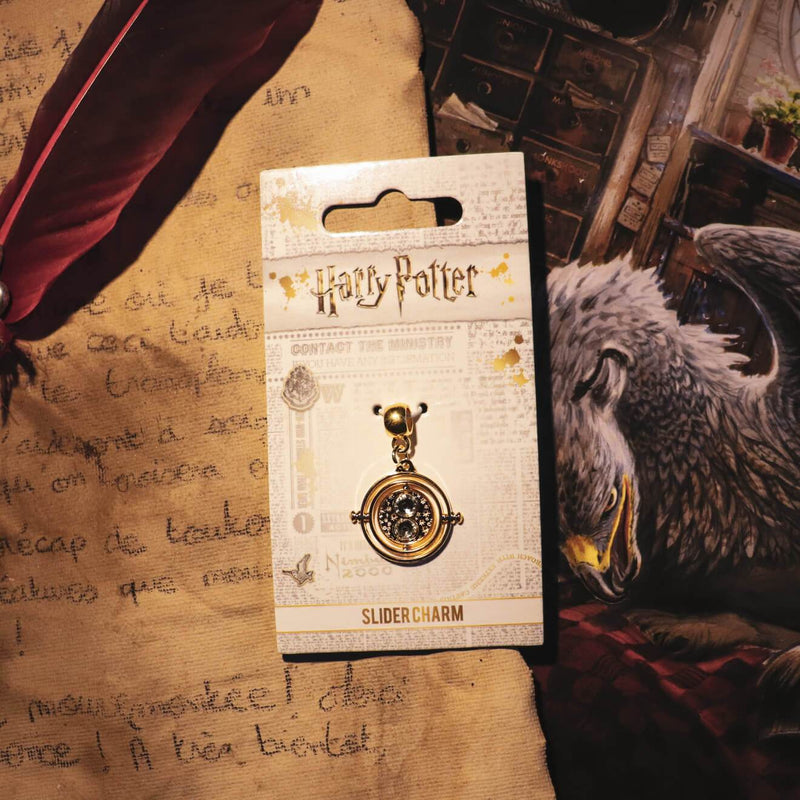CHARM RETOURNEUR DE TEMPS SLIDER CHARM - HARRY POTTER - la boutique du sorcier