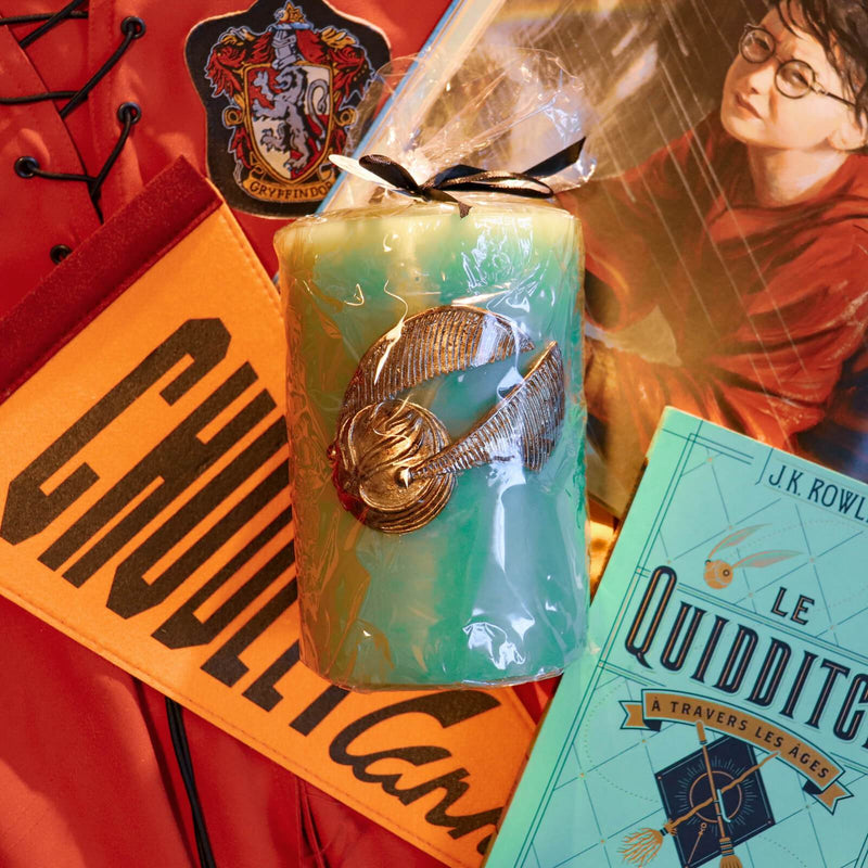 GRANDE BOUGIE VIF D'OR - HARRY POTTER