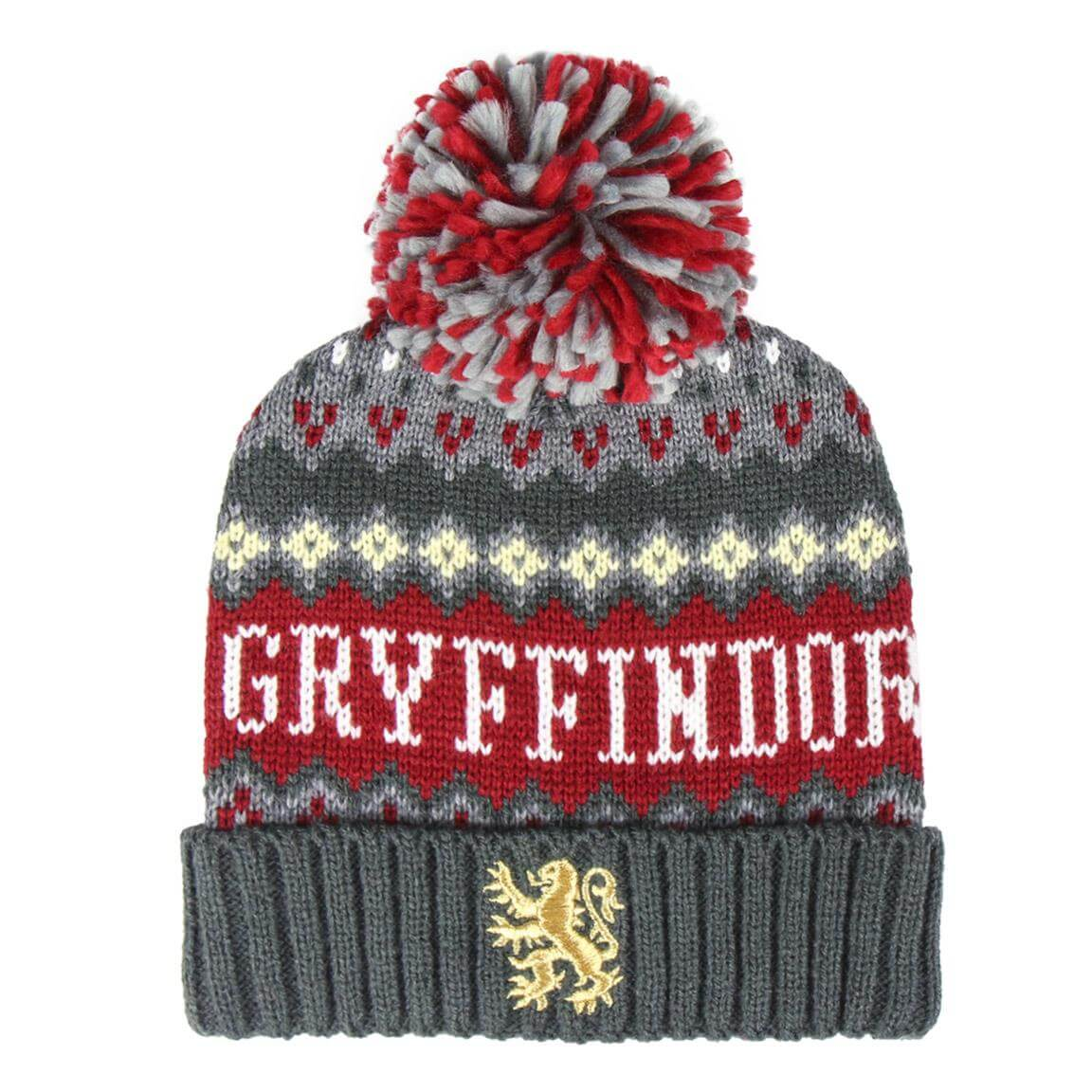 BONNET POMPON GRYFFONDOR - HARRY POTTER - la boutique du sorcier