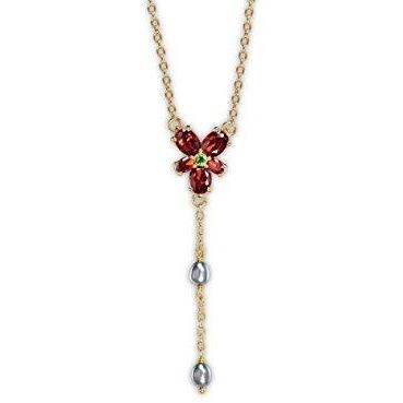 COLLIER CRISTAL ROUGE D'HERMIONE ARGENT - HARRY POTTER La Boutique du Sorcier - Wizard Shop
