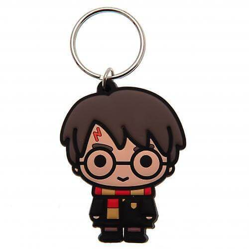 PORTE-CLÉS CAOUTCHOUC CHIBI HARRY POTTER - HARRY POTTER