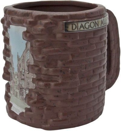 MUG 3D CHEMIN DE TRAVERSE (500 mL) - HARRY POTTER - la boutique du sorcier
