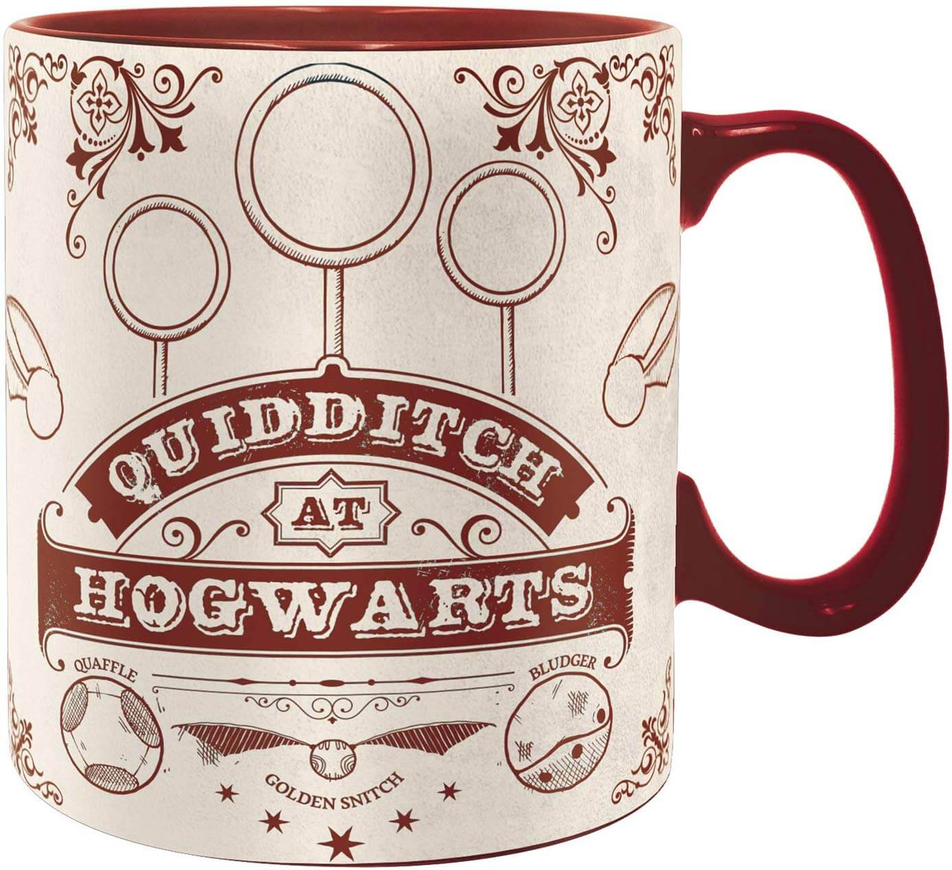 MUG QUIDDITCH (460ML) - HARRY POTTER