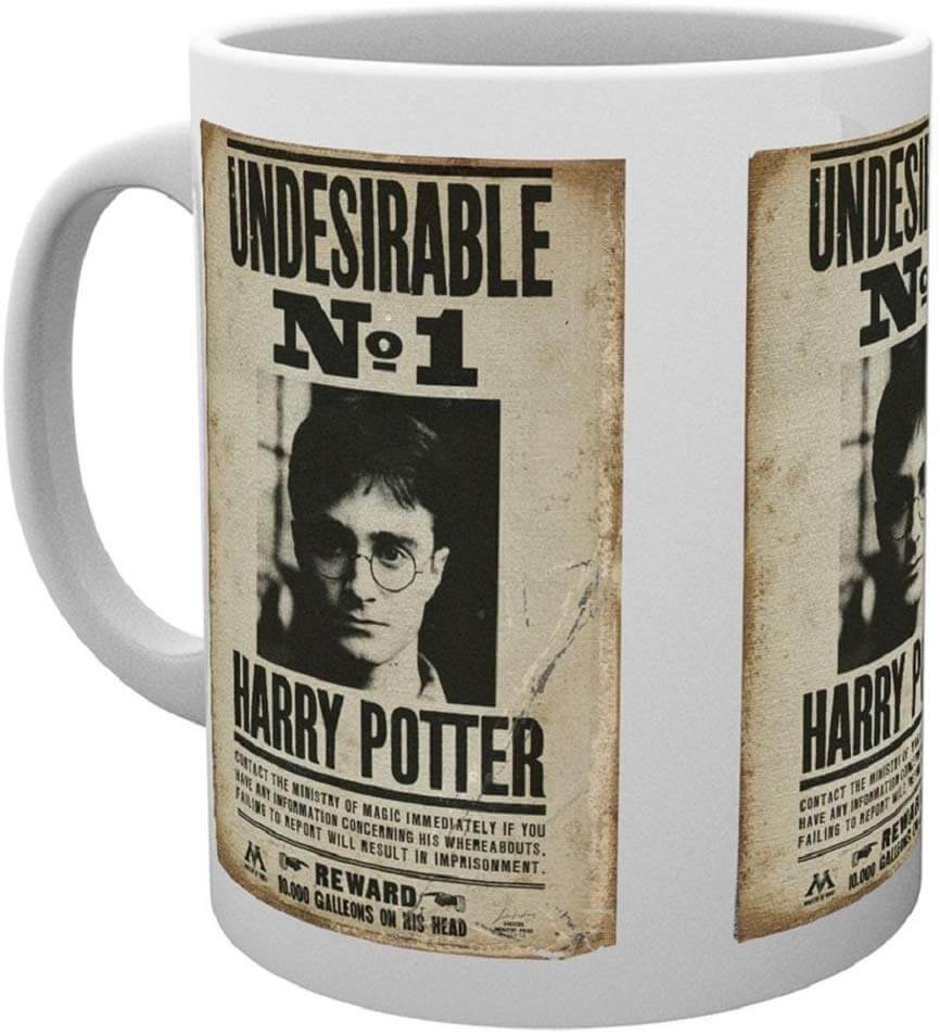 MUG UNDESIRABLE (315 ML) - HARRY POTTER
