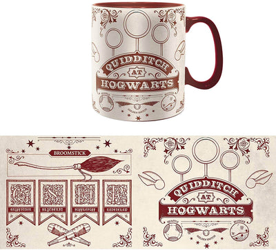 MUG QUIDDITCH (460ML) - HARRY POTTER - la boutique du sorcier