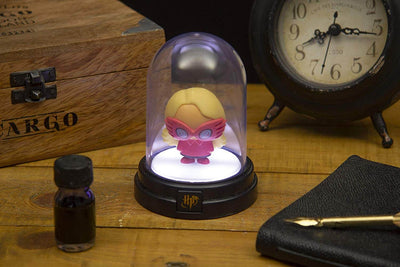 MINI LAMPE SOUS CLOCHE LUNA LOVEGOOD 13CM (Style Chibi) - HARRY POTTER - la boutique du sorcier