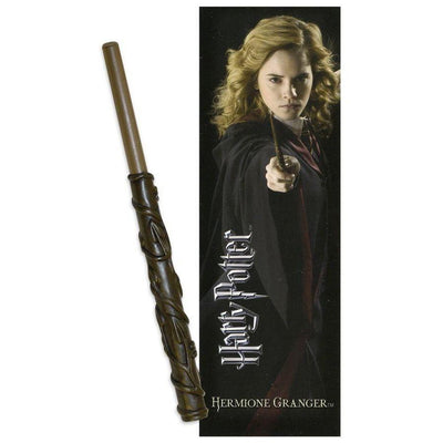 STYLO BAGUETTE & MARQUE-PAGE HERMIONE GRANGER - HARRY POTTER