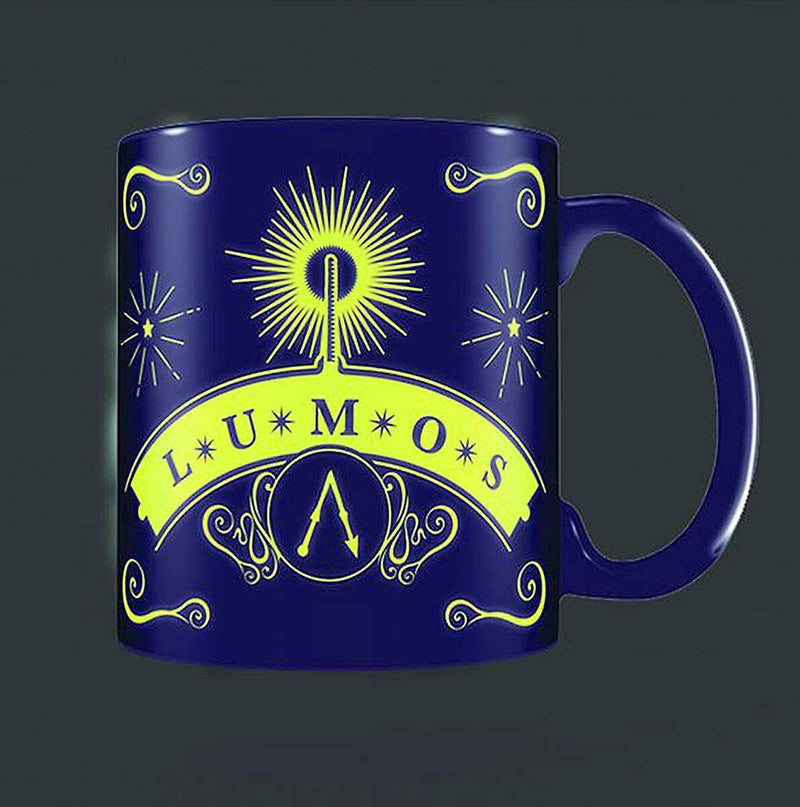 MUG PHOSPORESCENT LUMOS 300mL - HARRY POTTER