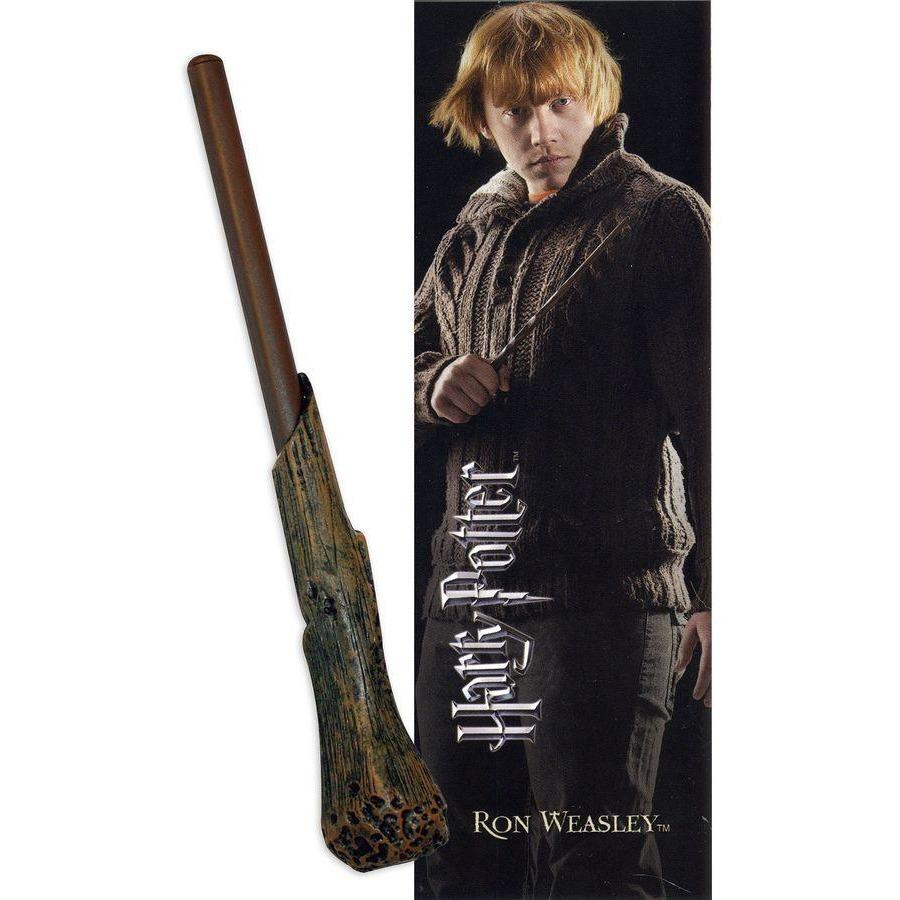 STYLO BAGUETTE & MARQUE-PAGE RON WEASLEY  - HARRY POTTER