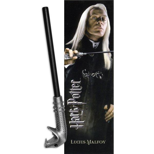 STYLO BAGUETTE & MARQUE-PAGE LUCIUS MALEFOY  - HARRY POTTER