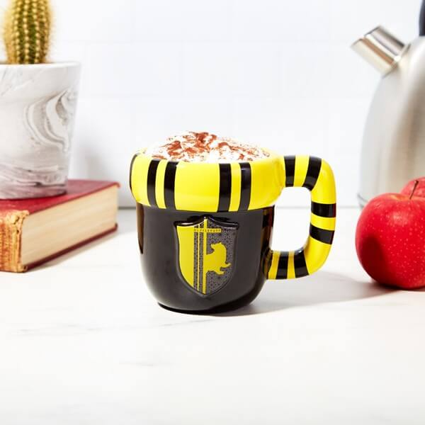 MUG POUFSOUFFLE (400mL) - HARRY POTTER