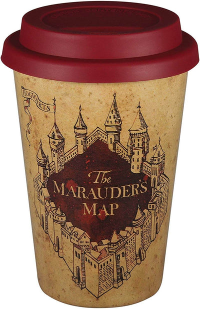 MUG DE VOYAGE CARTE DU MARAUDEUR (400 mL) - HARRY POTTER - la boutique du sorcier