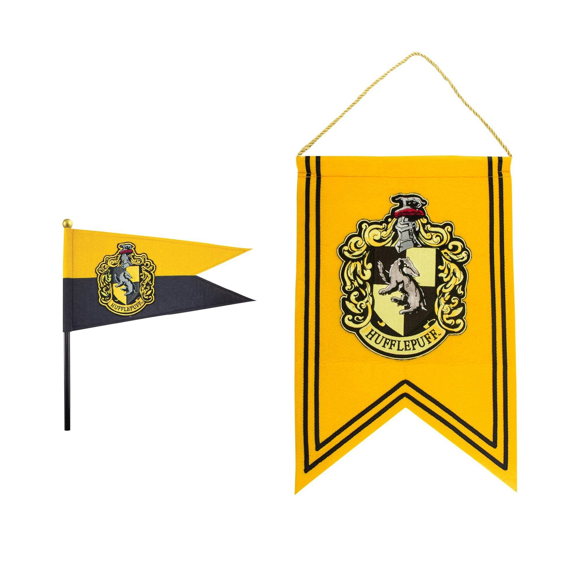 SET DRAPEAU & BANNIERE POUFSOUFFLE - HARRY POTTER