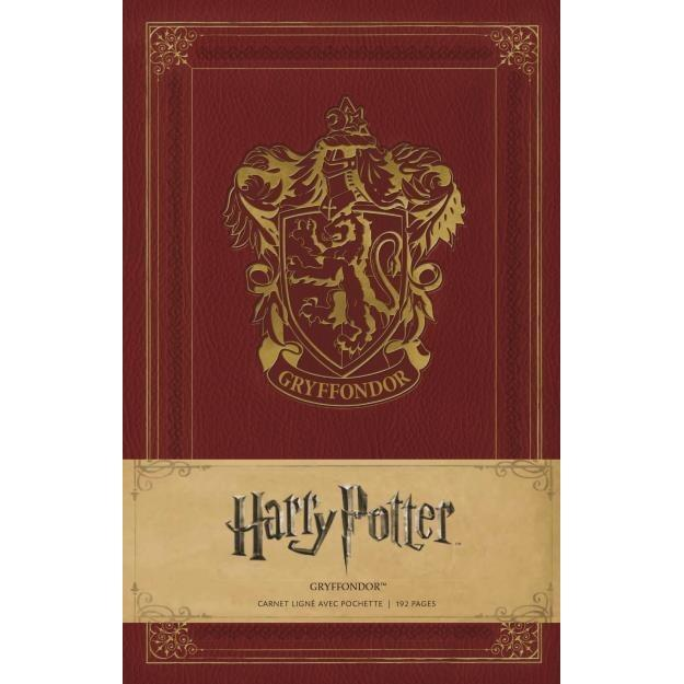 CARNET GRYFFONDOR - HARRY POTTER - la boutique du sorcier