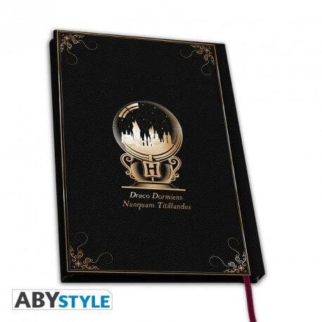 CARNET HOGWARTS (POUDLARD) A COUVERTURE SOUPLE - HARRY POTTER