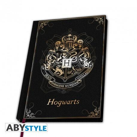 CARNET HOGWARTS (POUDLARD) A COUVERTURE SOUPLE - HARRY POTTER - la boutique du sorcier
