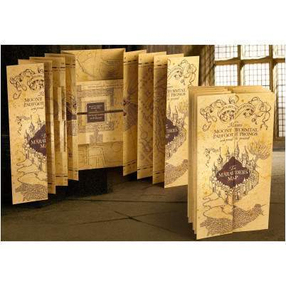 CARTE DU MARAUDEUR - HARRY POTTER La Boutique du Sorcier - Wizard Shop