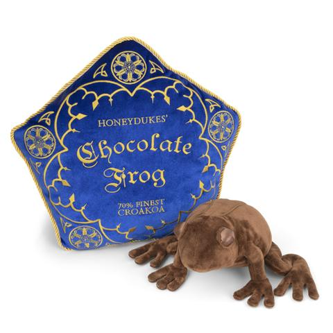 COUSSIN & PELUCHE CHOCOGRENOUILLE - HARRY POTTER