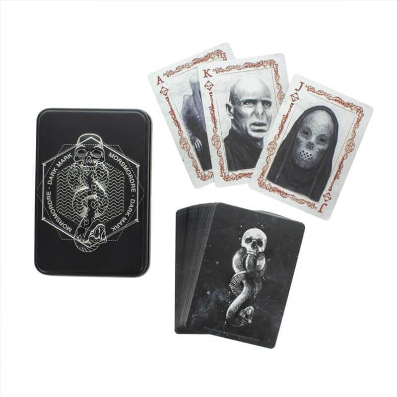 JEU DE CARTES (52) FORCES DU MAL - HARRY POTTER - la boutique du sorcier