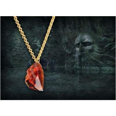 COLLIER PENDENTIF PIERRE PHILOSOPHALE - HARRY POTTER La Boutique du Sorcier - Wizard Shop