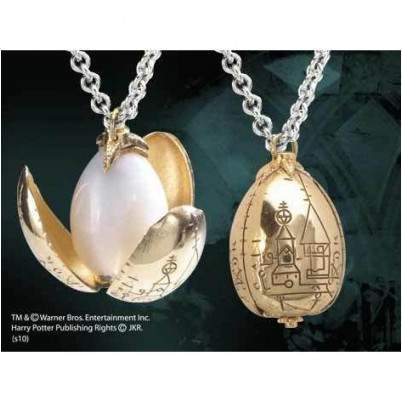 COLLIER PENDENTIF ŒUF D'OR - HARRY POTTER La Boutique du Sorcier - Wizard Shop