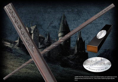 BAGUETTE COLLECTOR PROFESSEURE SYBILLE TRELAWNEY - HARRY POTTER - la boutique du sorcier