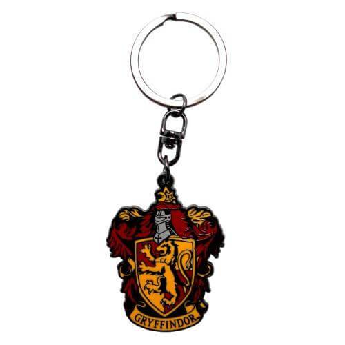 PORTE-CLÉS METALLIQUE GRYFFONDOR - HARRY POTTER