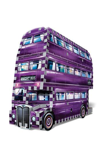 PUZZLE 3D MAGICOBUS (THE KNIGHT BUS) HARRY POTTER - 280 pcs - la boutique du sorcier