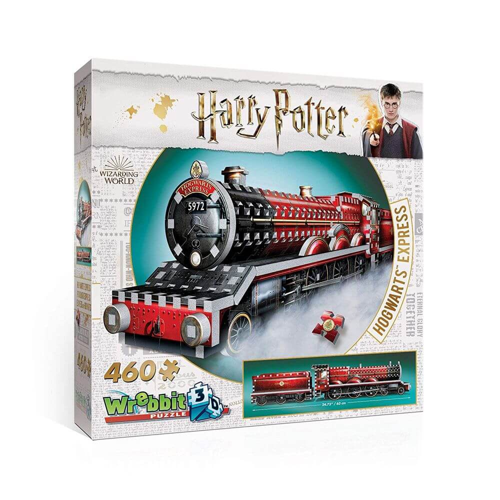 PUZZLE 3D POUDLARD EXPRESS  HARRY POTTER - 460 pcs - la boutique du sorcier