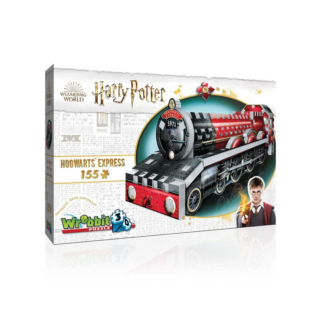 Puzzle 3d poudlard express  harry potter - 155 pcs