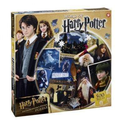 PUZZLE ROND WORLD OF HARRY - HARRY POTTER La Boutique du Sorcier - Wizard Shop