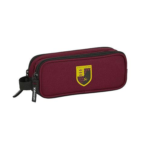 Trousse scolaire double Gryffondor - Harry Potter - la boutique du sorcier