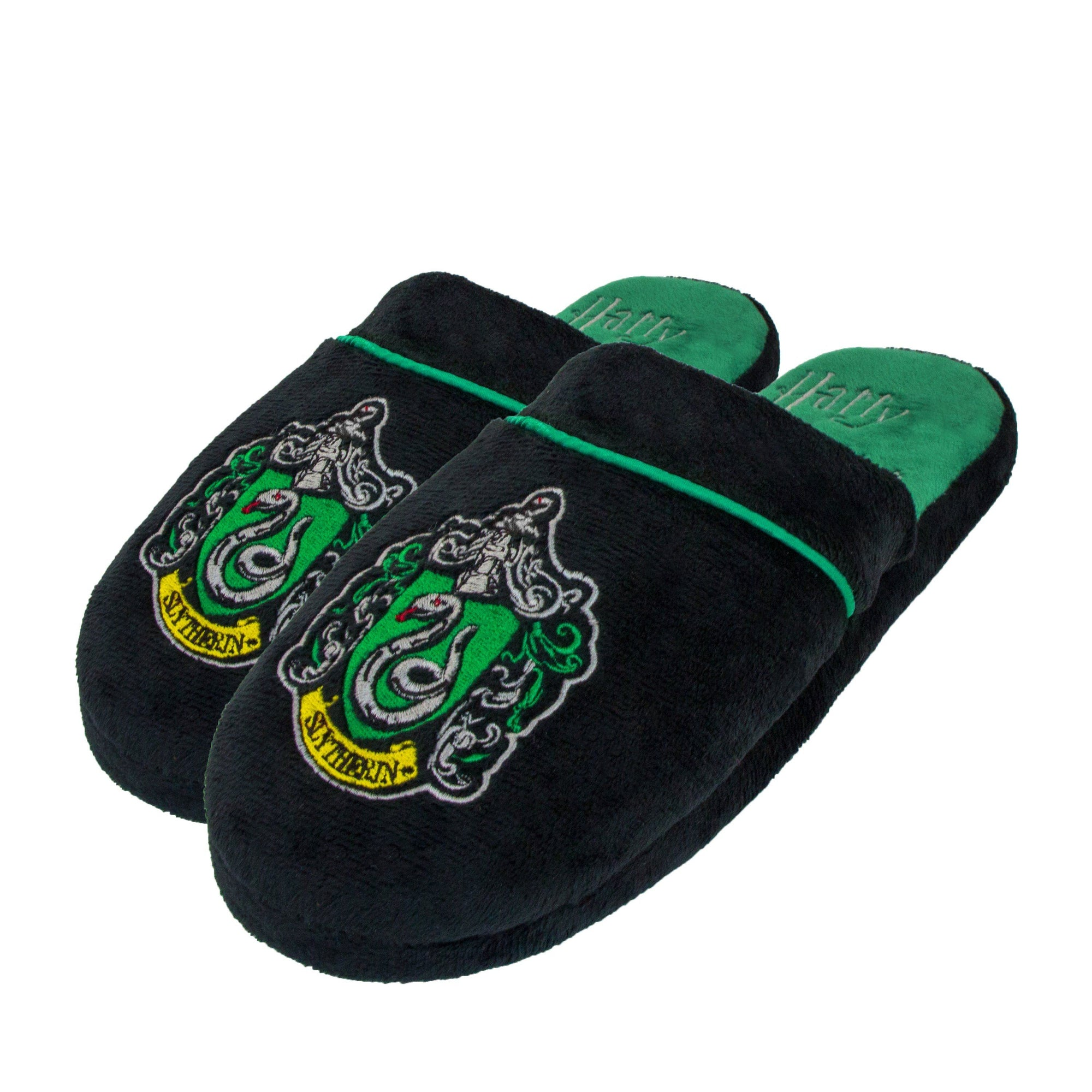 CHAUSSONS SERPENTARD - HARRY POTTER - la boutique du sorcier