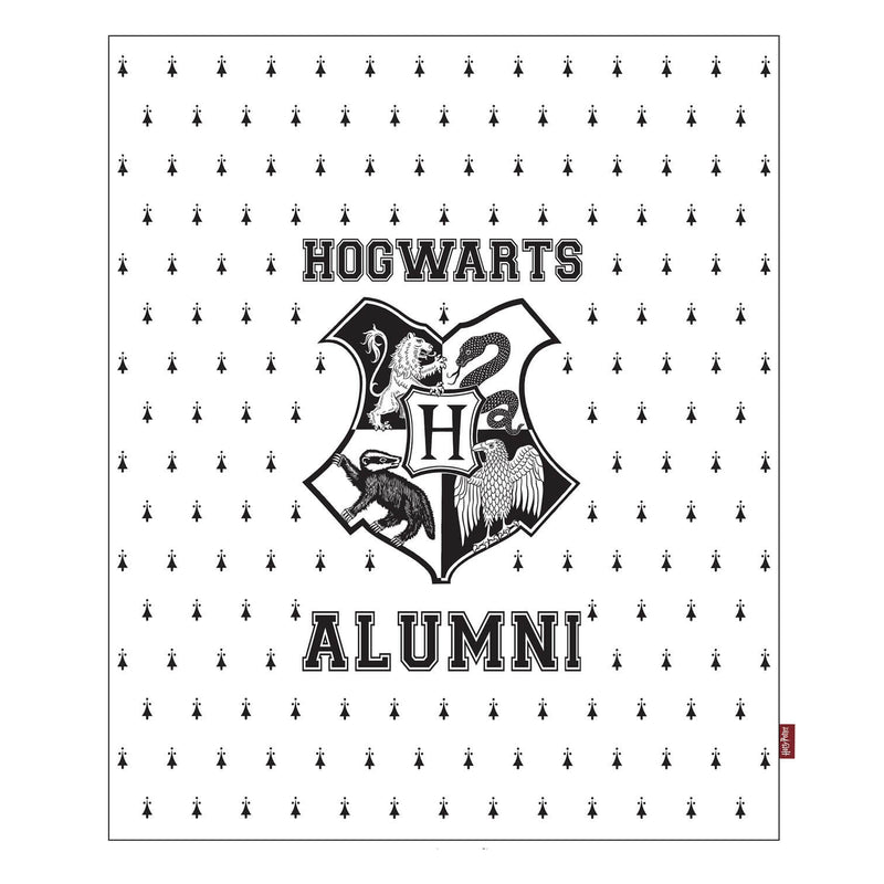 COUVERTURE POUDLARD ALUMNI (125 x 150 cm) - HARRY POTTER