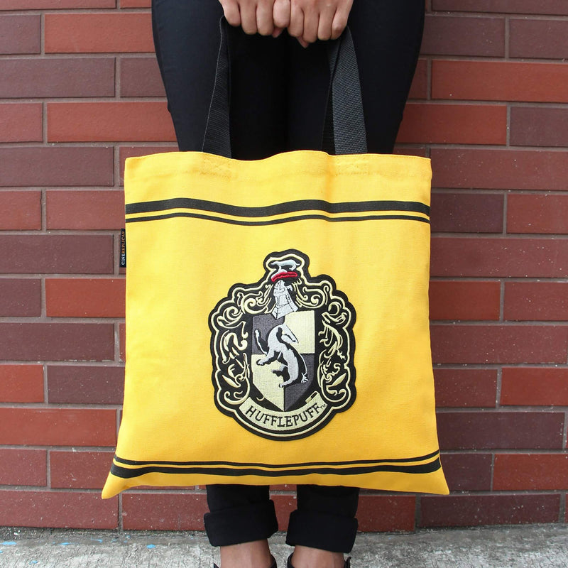 SAC EN TOILE POUFSOUFFLE - HARRY POTTER - la boutique du sorcier