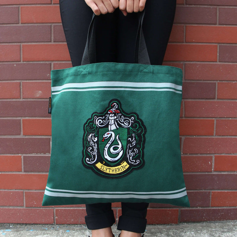 SAC EN TOILE SERPENTARD - HARRY POTTER