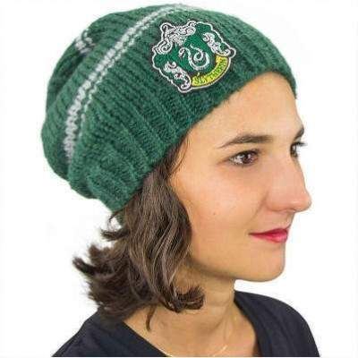 BONNET LONG TRICOT SERPENTARD -  HARRY POTTER