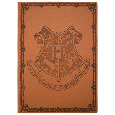 CARNET POUDLARD A COUVERTURE SOUPLE - HARRY POTTER - la boutique du sorcier