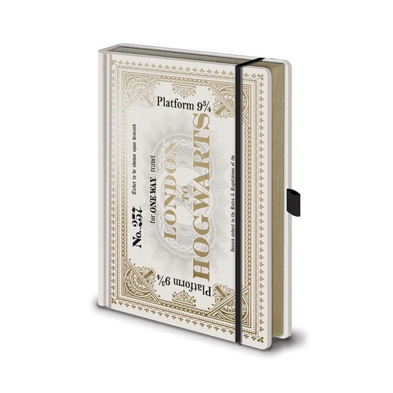 CARNET A5 PREMIUM BILLET POUDLARD EXPRESS - HARRY POTTER
