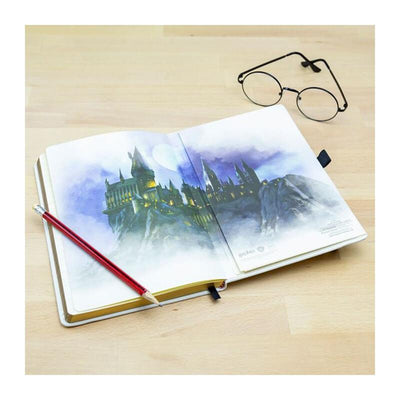 CARNET A5 PREMIUM BILLET POUDLARD EXPRESS - HARRY POTTER - la boutique du sorcier