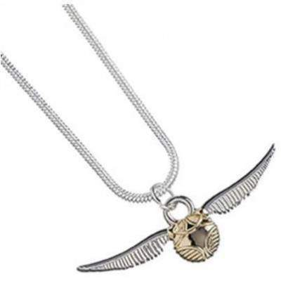 COLLIER PENDENTIF VIF D'OR - HARRY POTTER