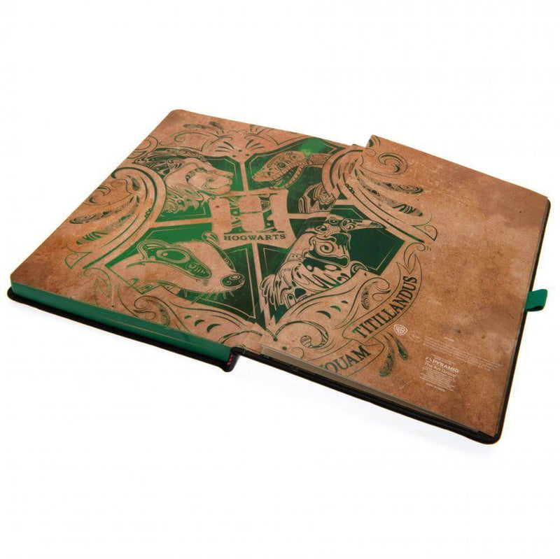 CARNET PREMIUM SERPENTARD - HARRY POTTER - la boutique du sorcier