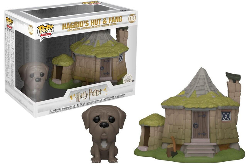 FUNKO POP CABANE HAGRID + CROCKDUR - HARRY POTTER