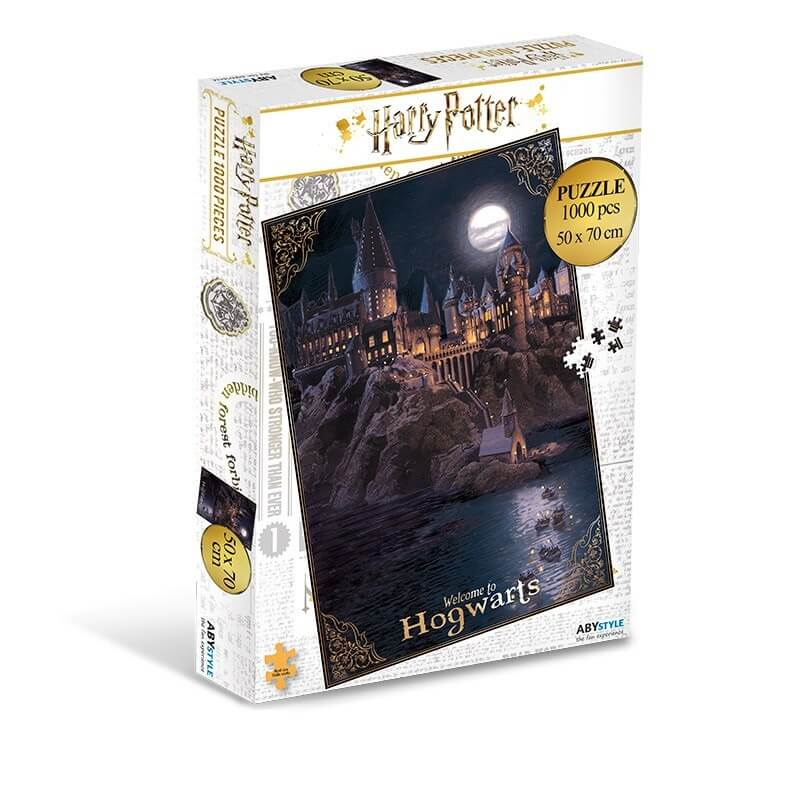Puzzle harry potter ecole poudlard (1000 pièces) - harry potter