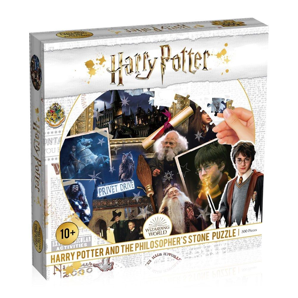 PUZZLE HARRY POTTER ET LA PIERRE PHILOSOPHALE - HARRY POTTER - la boutique du sorcier