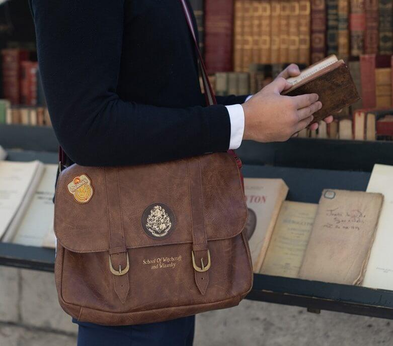 Sac bandoulière / cartable poudlard - harry potter