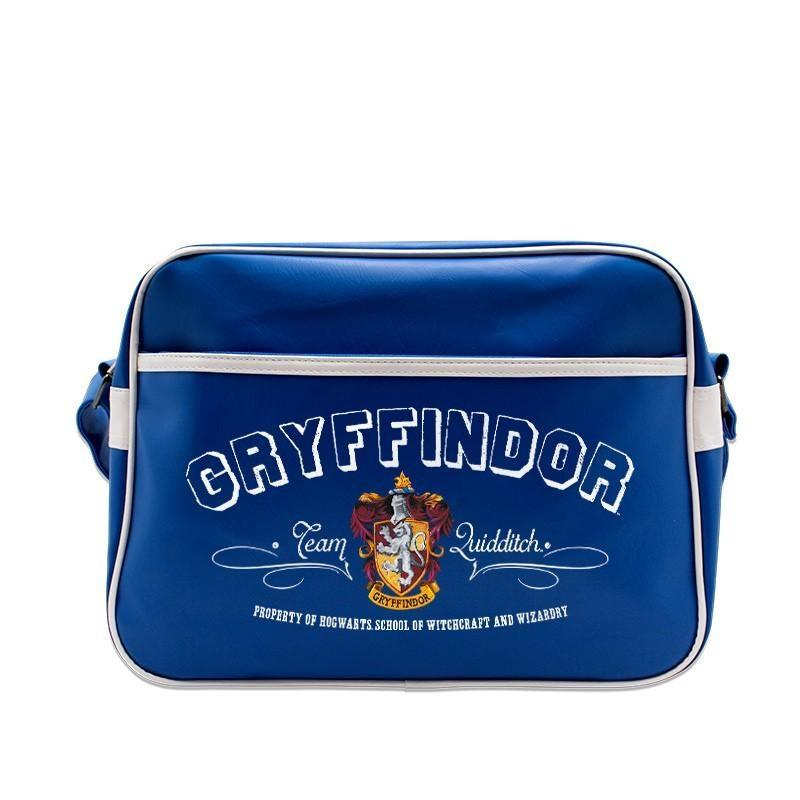 SAC BANDOULIÈRE / CARTABLE GRYFFONDOR BLEU - HARRY POTTER
