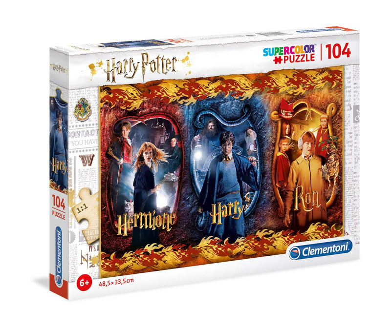 Puzzle Super Color Harry, Ron & Hermione - HARRY POTTER