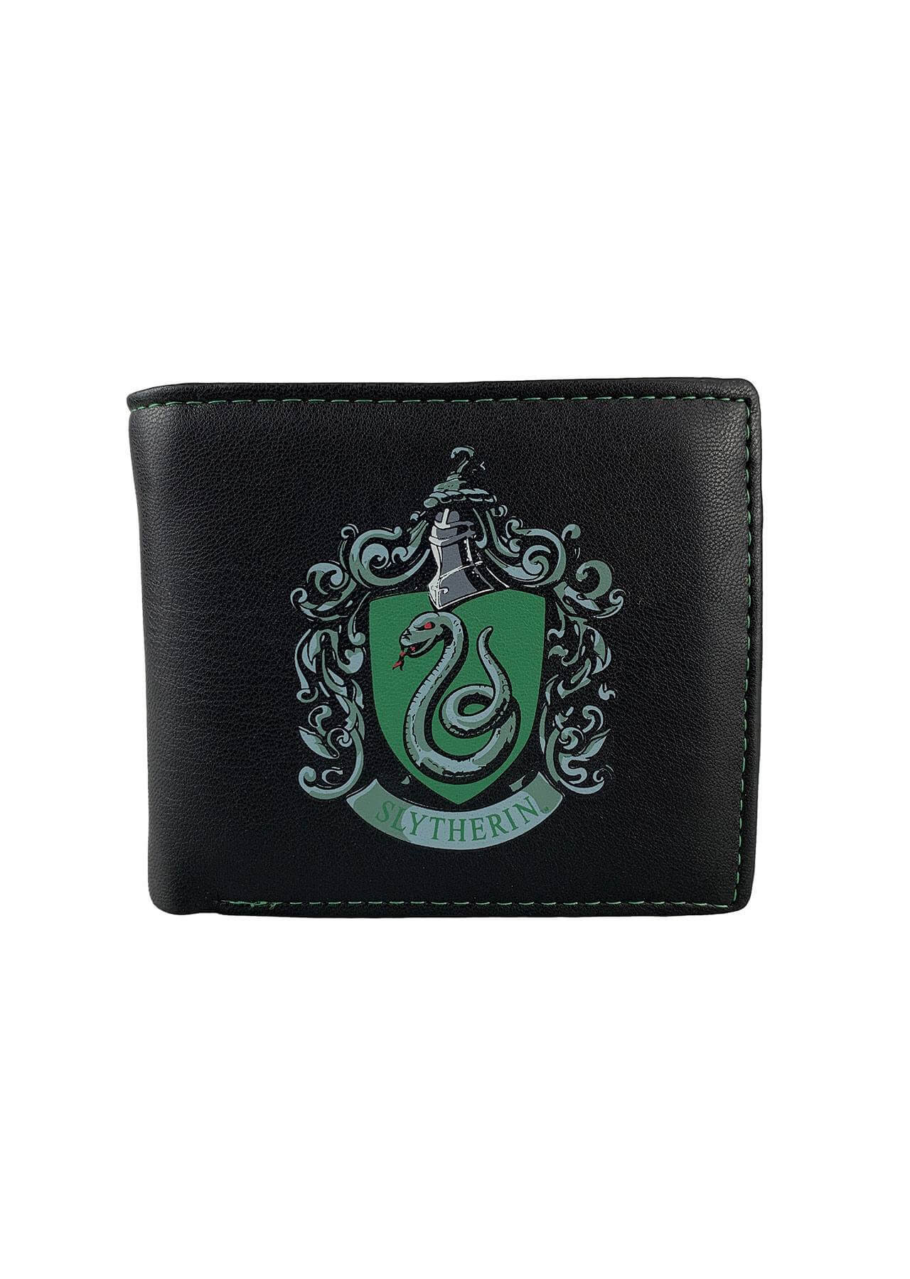 PORTEFEUILLE SERPENTARD VERT - HARRY POTTER - la boutique du sorcier